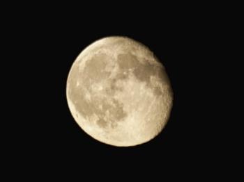 Lluna des de la platja de Bellreguard. Fotògraf: Enrique F. de la Calle