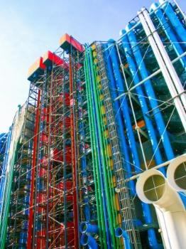 Centre Pompidou. Fotògraf: Enrique F. de la Calle