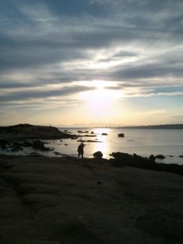 Posta de sol. Fotògraf: Enrique F. de la Calle